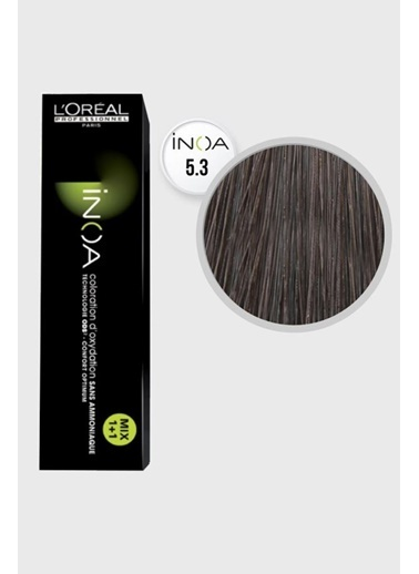 L'oreal Professionnel Loreal Inoa No:5.3 Saç Boyası 60 Ml Renkli